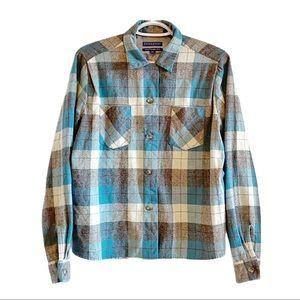 Pendleton 40ers tuckeroo wool flannel plaid shirt
